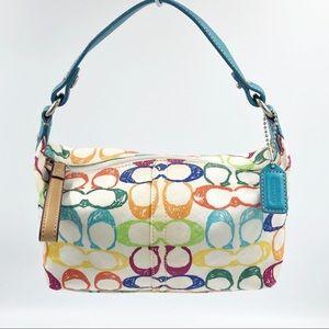 Vintage Coach Mini Purse / Handbag / Tote